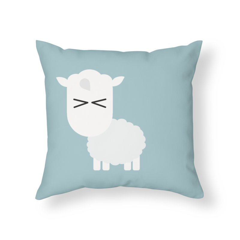 Little lamb Home Throw Pillow by Yellow Studio · the Shop!