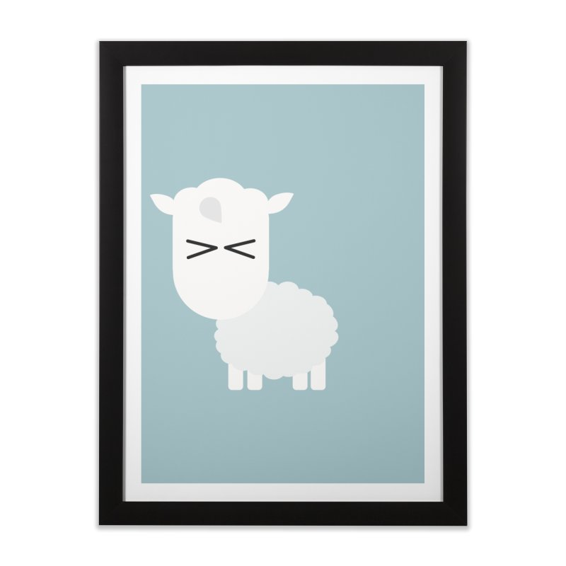Little lamb Home Framed Fine Art Print by Yellow Studio · the Shop!