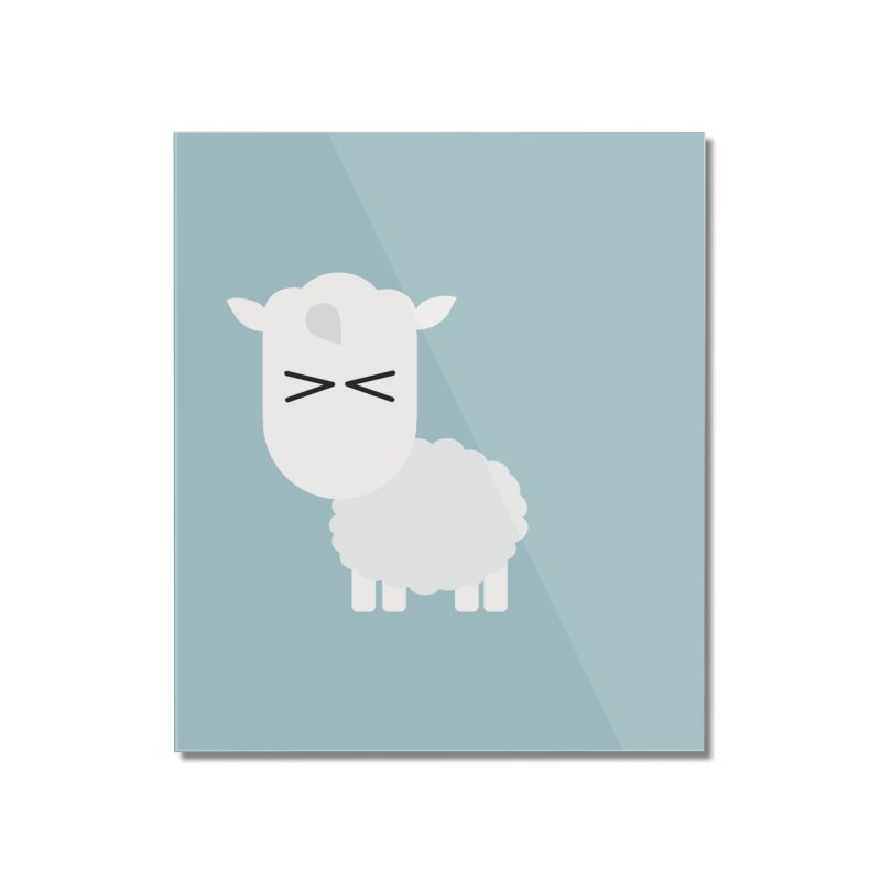 Little lamb Home Mounted Acrylic Print by Yellow Studio · the Shop!