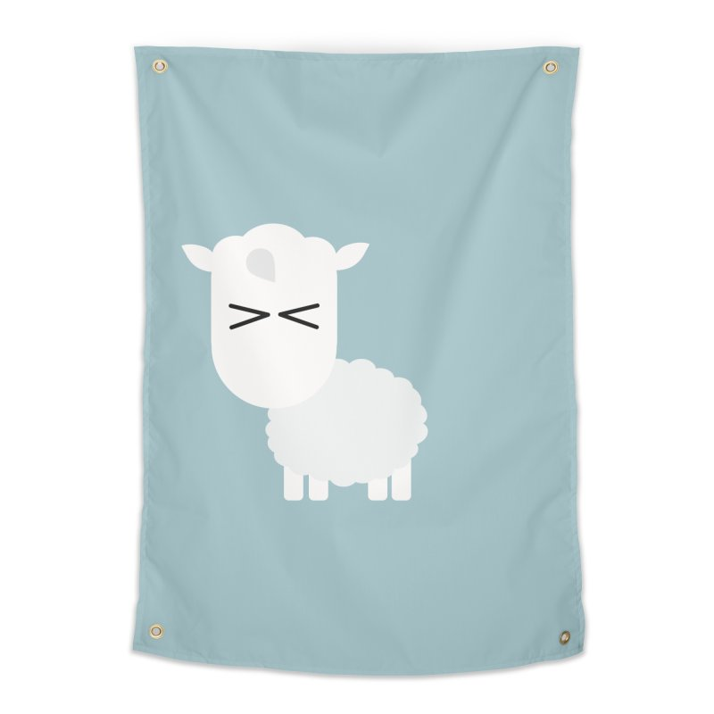 Little lamb Home Tapestry by Yellow Studio · the Shop!