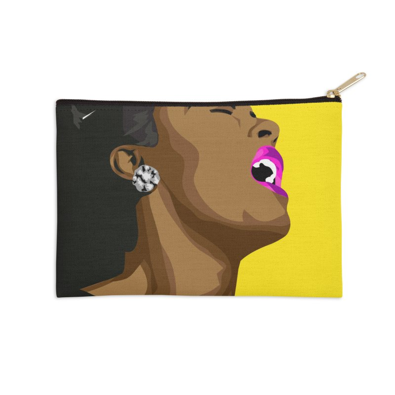 Lady Day Accessories Zip Pouch by Yellow Studio · the Shop!