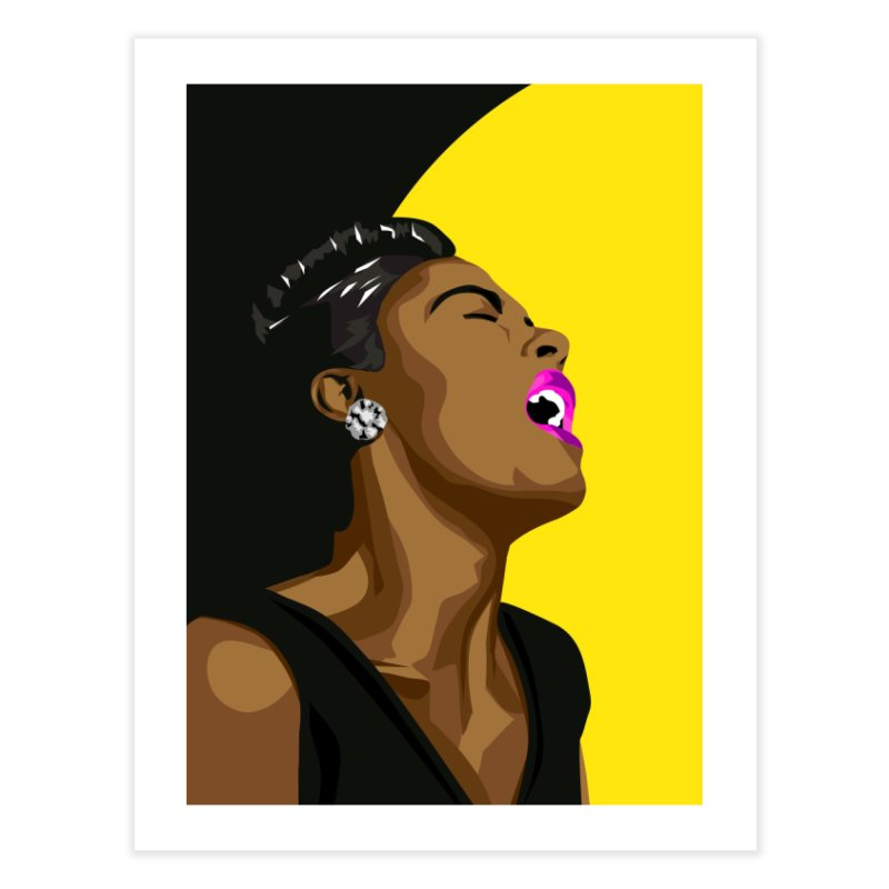 Lady Day Home Fine Art Print by Yellow Studio · the Shop!