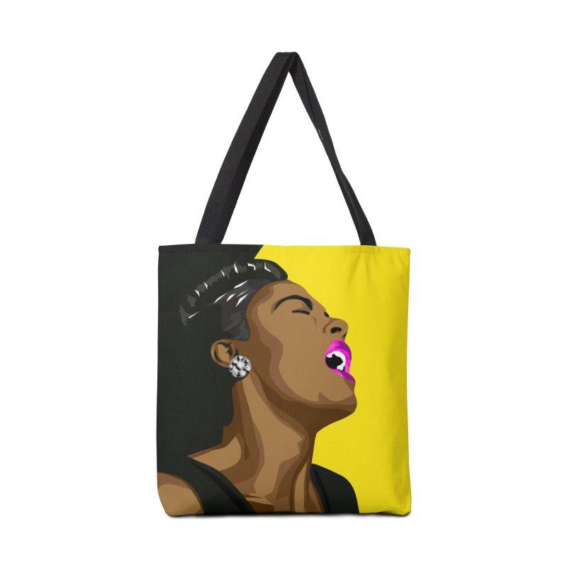 Lady Day Accessories Tote Bag Bag by Yellow Studio · the Shop!