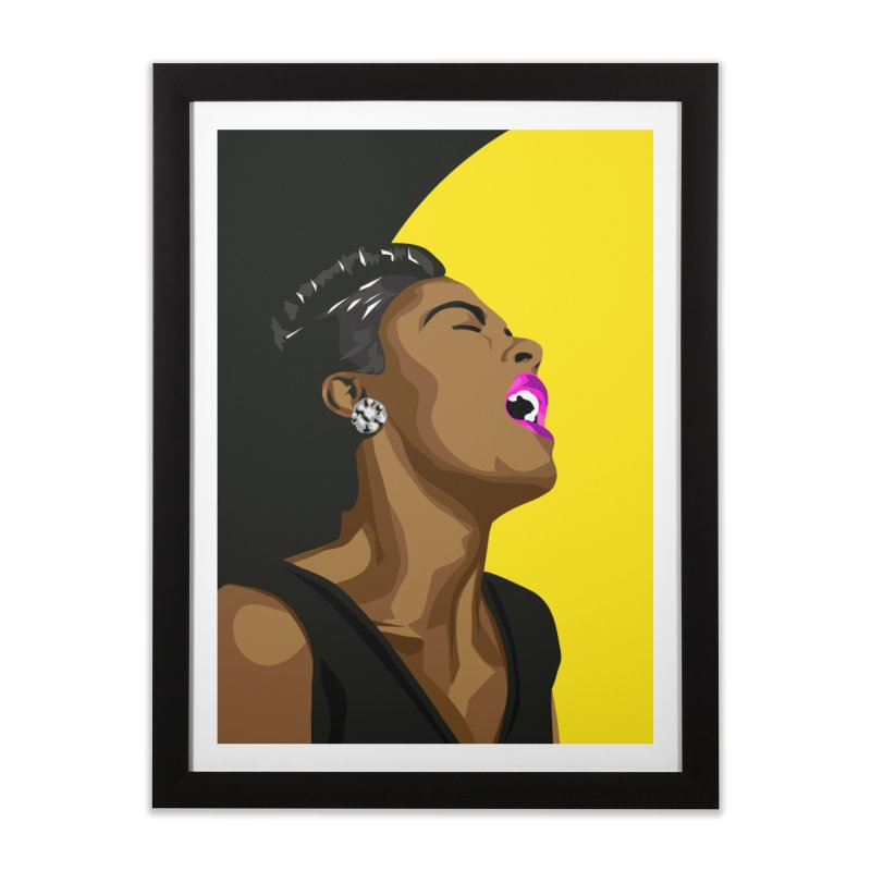 Lady Day Home Framed Fine Art Print by Yellow Studio · the Shop!