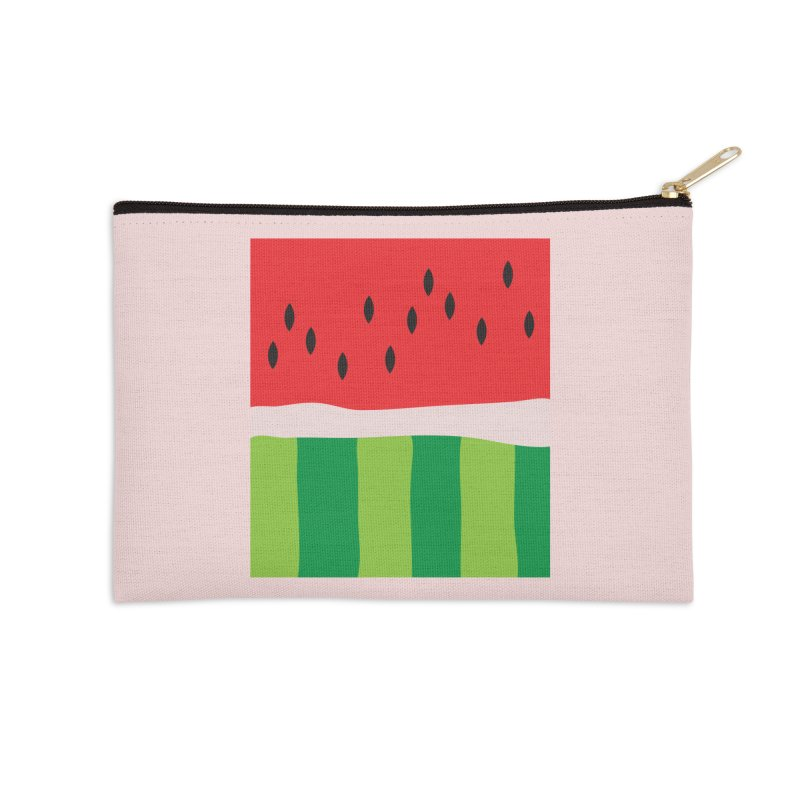 Watermelon Yum! Accessories Zip Pouch by Yellow Studio · the Shop!