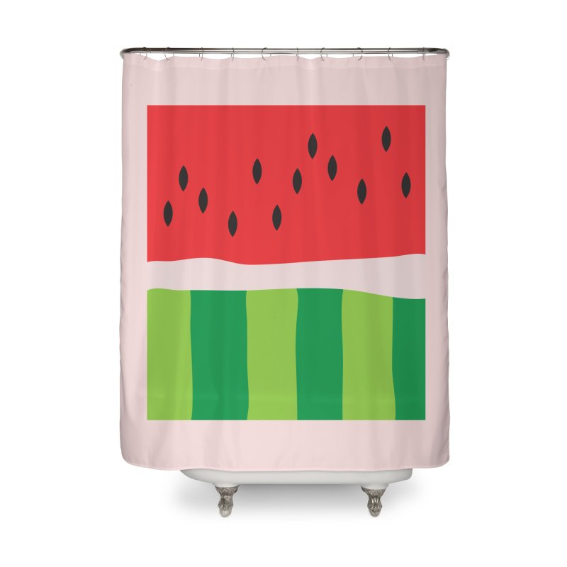 Watermelon Yum! Home Shower Curtain by Yellow Studio · the Shop!