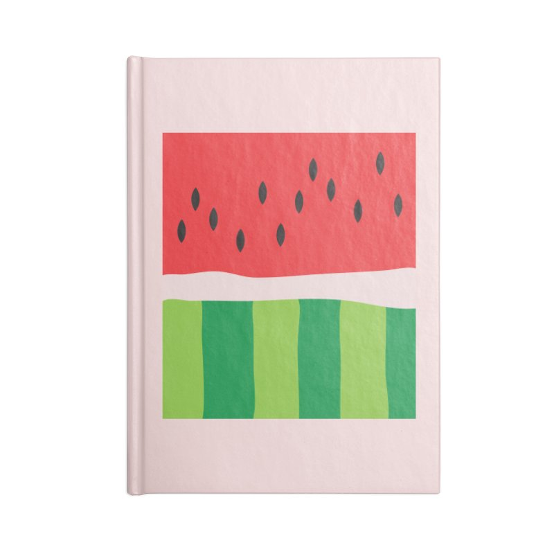 Watermelon Yum! Accessories Lined Journal Notebook by Yellow Studio · the Shop!