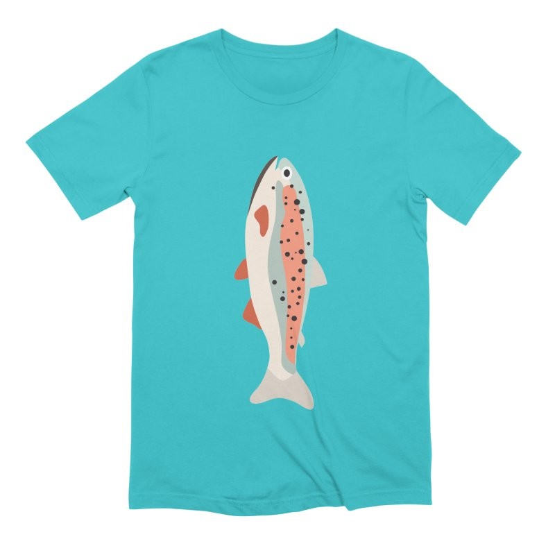Trout Men's Extra Soft T-Shirt by Yellow Studio · the Shop!