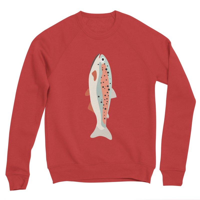 Trout Men's Sponge Fleece Sweatshirt by Yellow Studio · the Shop!