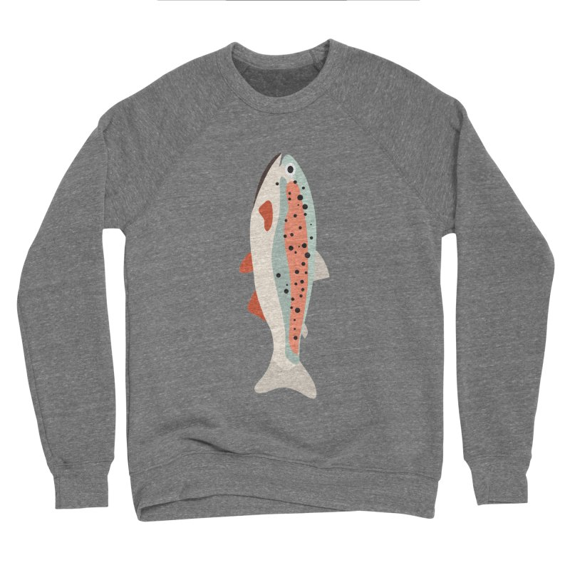 Trout Men's Sponge Fleece Sweatshirt by Yellow Studio · the Shop!