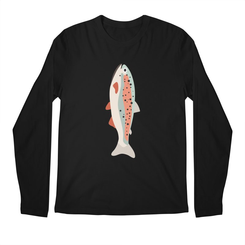 Trout Men's Regular Longsleeve T-Shirt by Yellow Studio · the Shop!