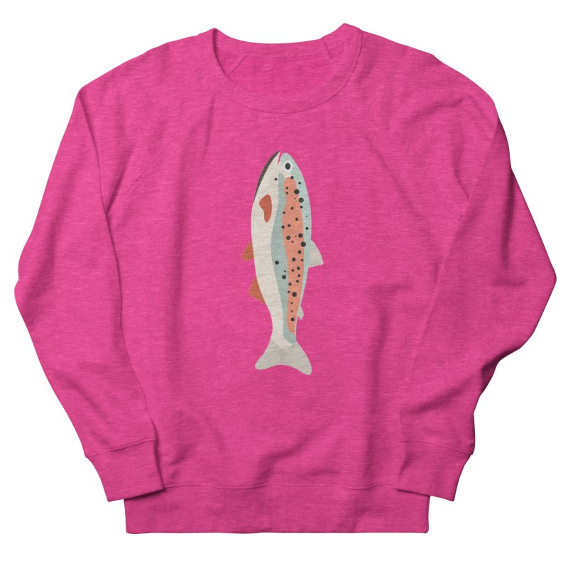 Trout Women's French Terry Sweatshirt by Yellow Studio · the Shop!