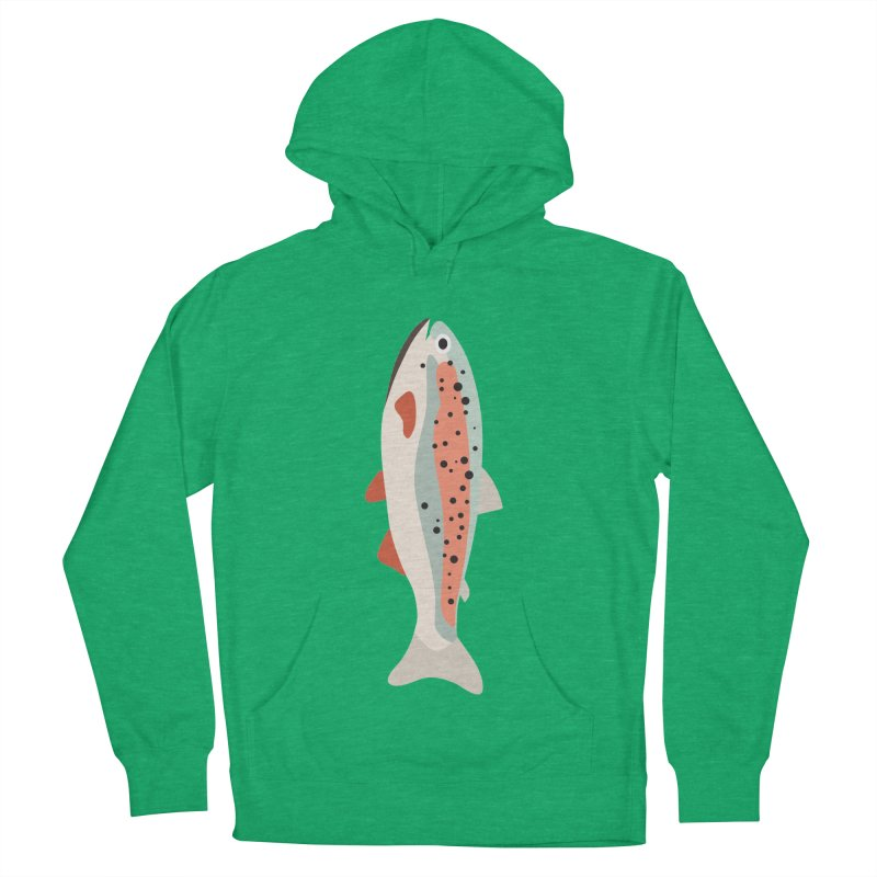 Trout Women's French Terry Pullover Hoody by Yellow Studio · the Shop!