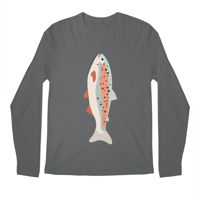 Trout Men's Regular Longsleeve T-Shirt by Yellow Studio · the Shop!