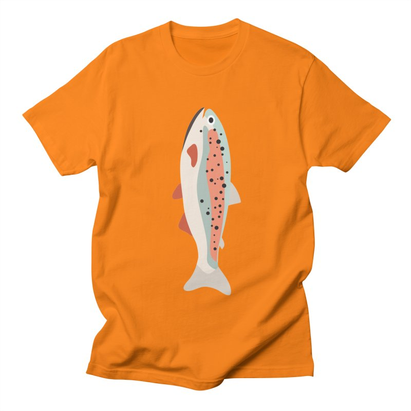 Trout Women's Regular Unisex T-Shirt by Yellow Studio · the Shop!