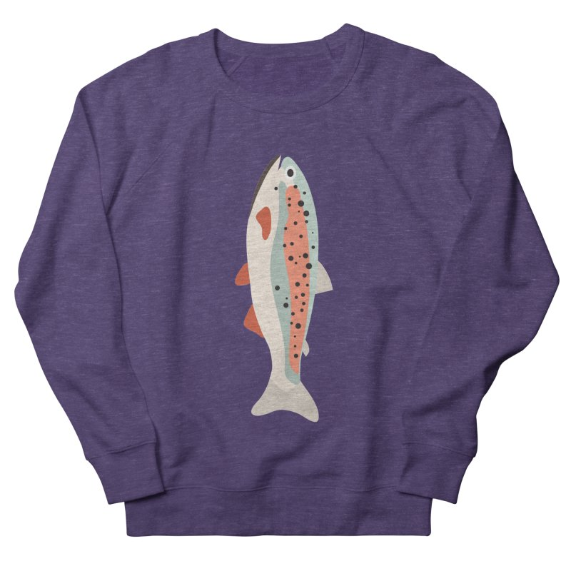 Trout Men's French Terry Sweatshirt by Yellow Studio · the Shop!