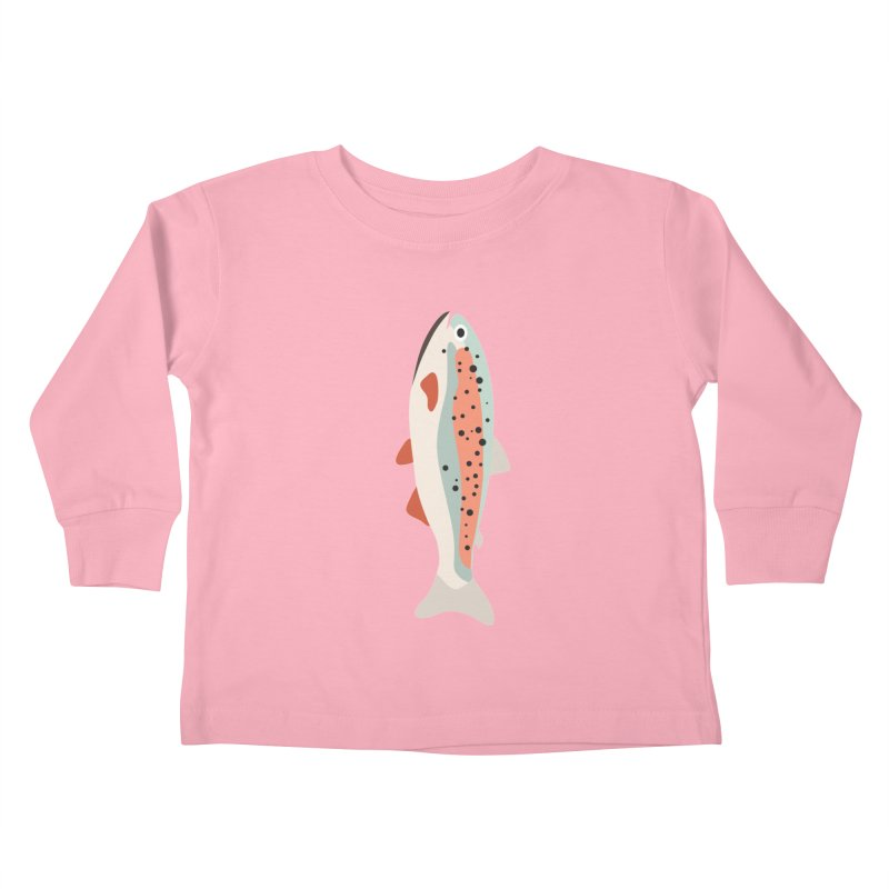 Trout Kids Toddler Longsleeve T-Shirt by Yellow Studio · the Shop!