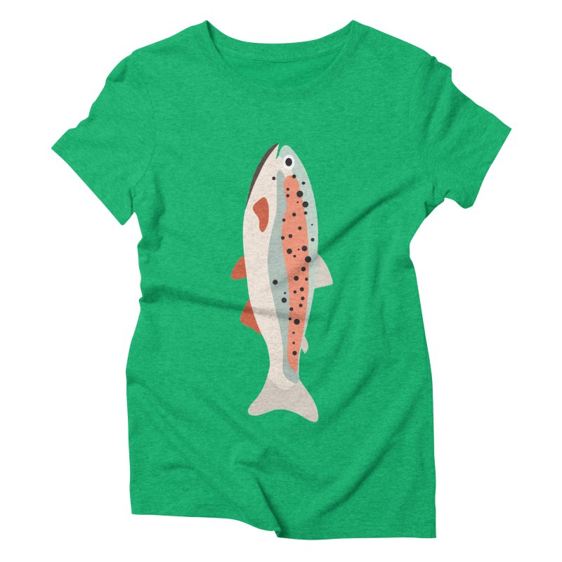 Trout Women's Triblend T-Shirt by Yellow Studio · the Shop!