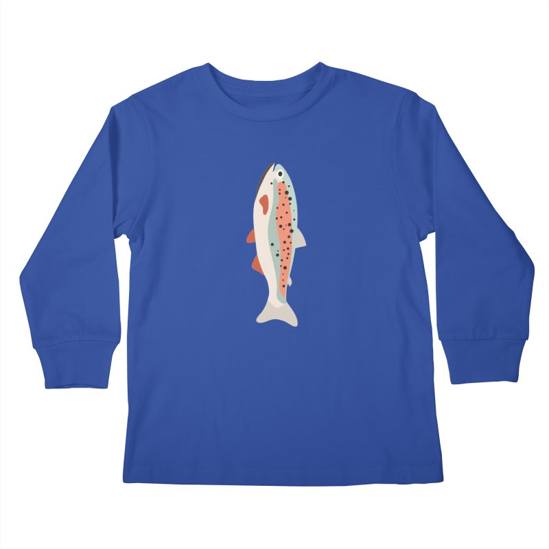 Trout Kids Longsleeve T-Shirt by Yellow Studio · the Shop!