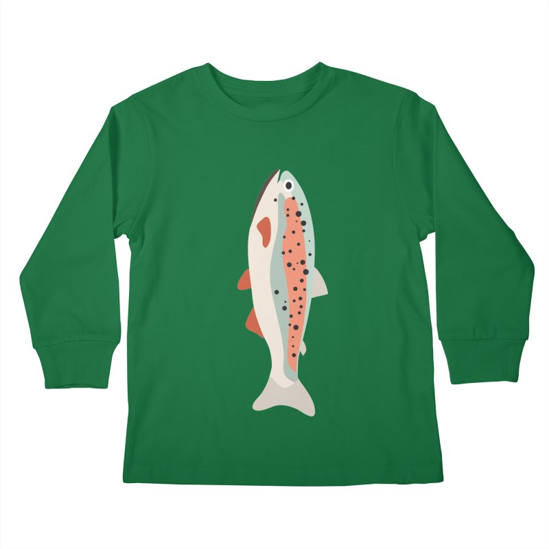 Trout Kids Longsleeve T-Shirt by Yellow Studio · the Shop!