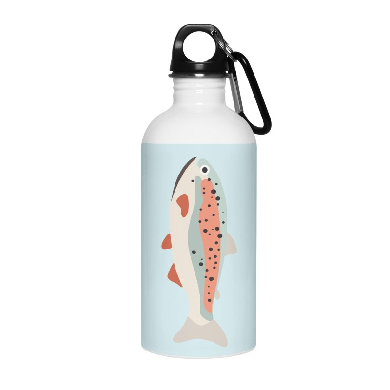 Trout Accessories Water Bottle by Yellow Studio · the Shop!