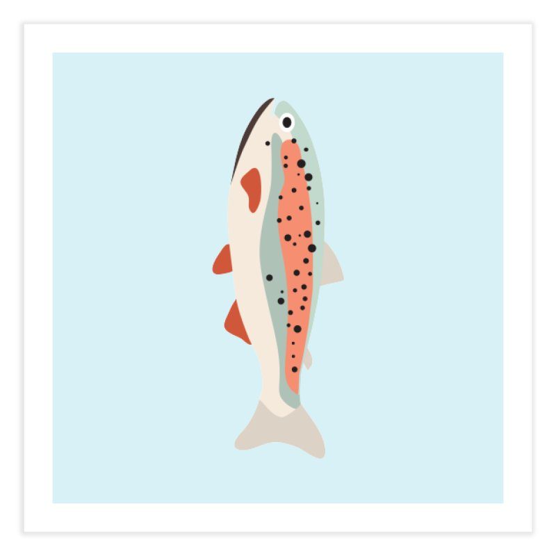 Trout Home Fine Art Print by Yellow Studio · the Shop!
