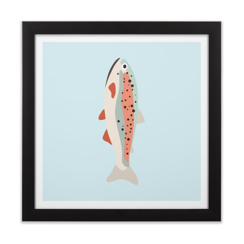 Trout Home Framed Fine Art Print by Yellow Studio · the Shop!