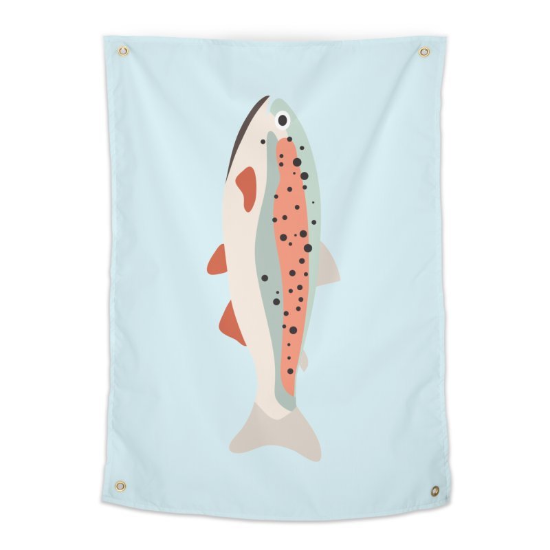Trout Home Tapestry by Yellow Studio · the Shop!