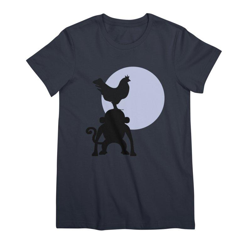 Cada macaco no seu un gallo Women's Premium T-Shirt by Yellow Studio · the Shop!