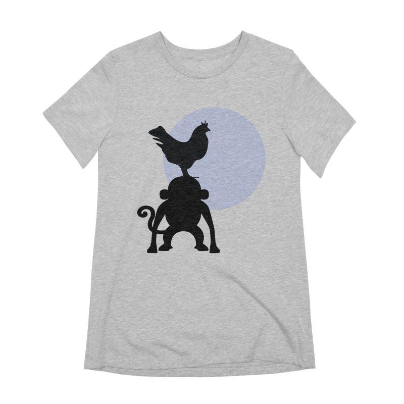 Cada macaco no seu un gallo Women's Extra Soft T-Shirt by Yellow Studio · the Shop!