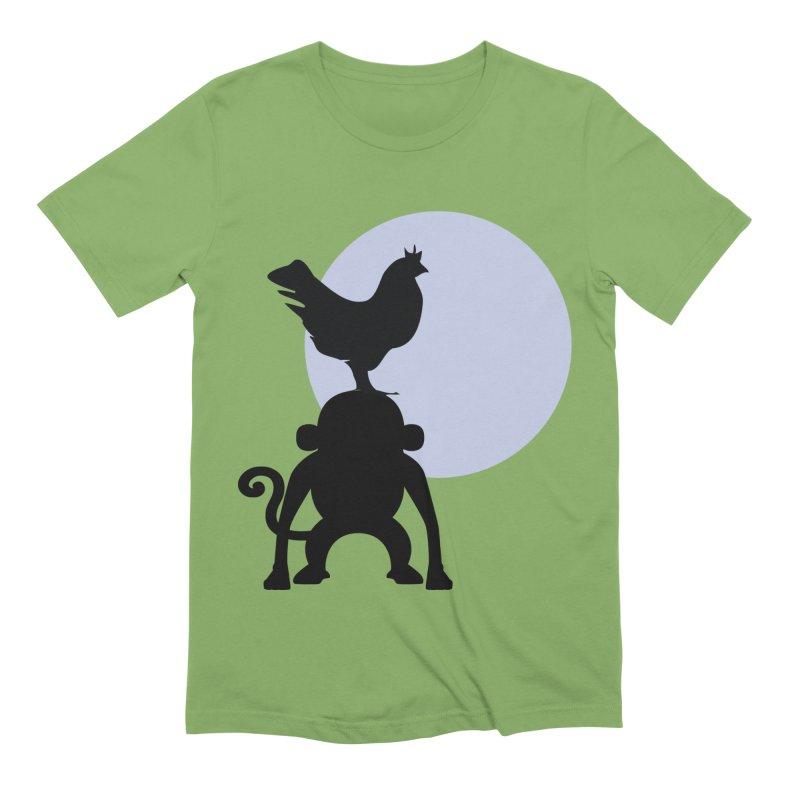 Cada macaco no seu un gallo Men's Extra Soft T-Shirt by Yellow Studio · the Shop!