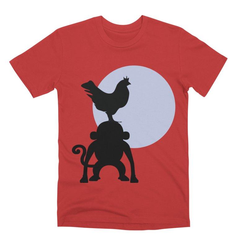 Cada macaco no seu un gallo Men's Premium T-Shirt by Yellow Studio · the Shop!