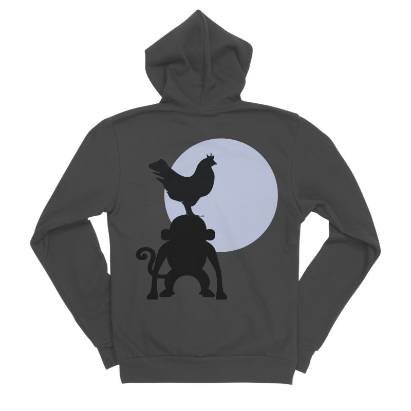 Cada macaco no seu un gallo Men's Sponge Fleece Zip-Up Hoody by Yellow Studio · the Shop!