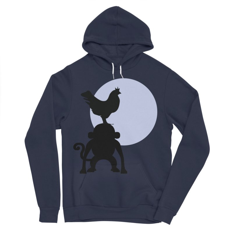 Cada macaco no seu un gallo Women's Sponge Fleece Pullover Hoody by Yellow Studio · the Shop!