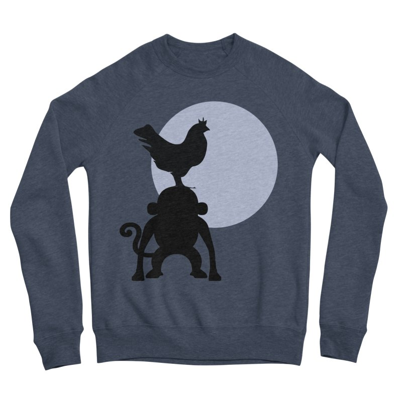 Cada macaco no seu un gallo Women's Sponge Fleece Sweatshirt by Yellow Studio · the Shop!