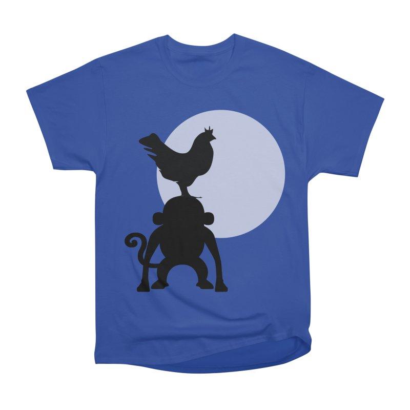 Cada macaco no seu un gallo Women's Heavyweight Unisex T-Shirt by Yellow Studio · the Shop!