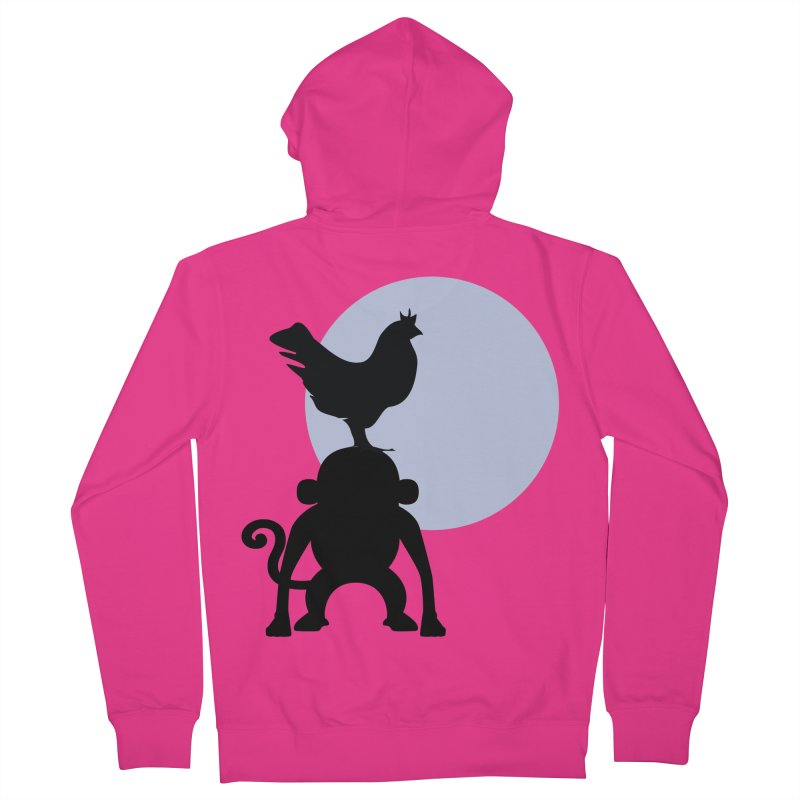 Cada macaco no seu un gallo Men's French Terry Zip-Up Hoody by Yellow Studio · the Shop!