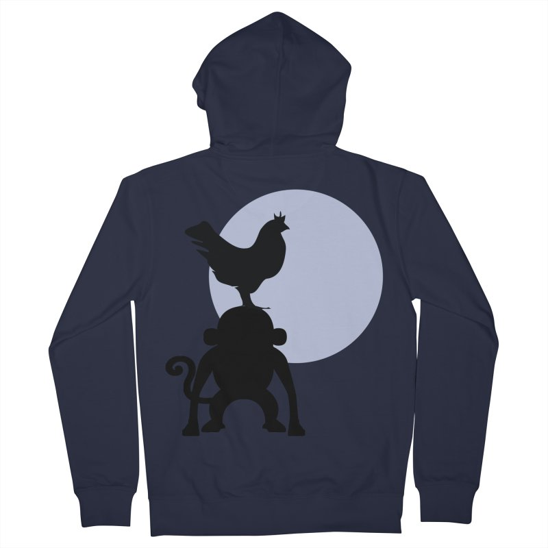 Cada macaco no seu un gallo Men's French Terry Zip-Up Hoody by Yellow Studio · the Shop!