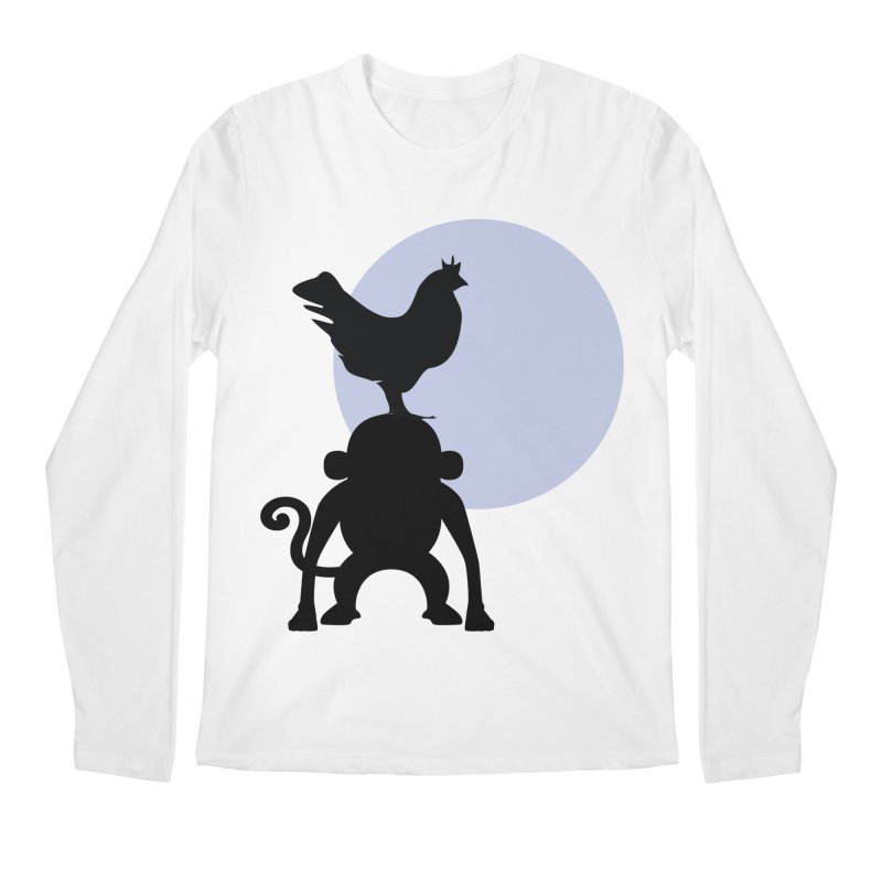 Cada macaco no seu un gallo Men's Regular Longsleeve T-Shirt by Yellow Studio · the Shop!