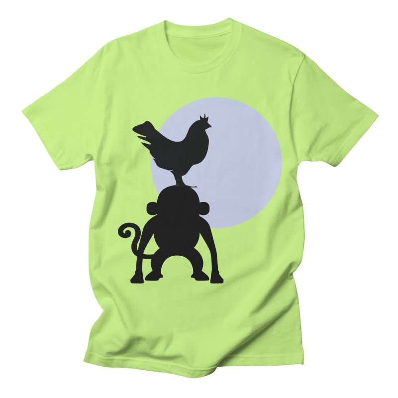 Cada macaco no seu un gallo Men's Regular T-Shirt by Yellow Studio · the Shop!