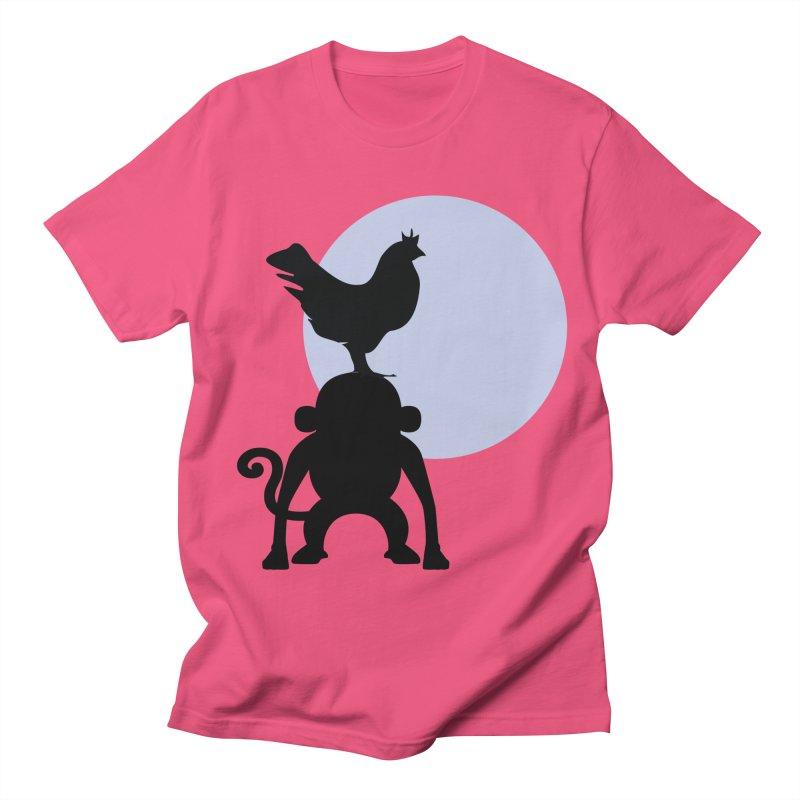 Cada macaco no seu un gallo Men's Regular T-Shirt by Yellow Studio · the Shop!