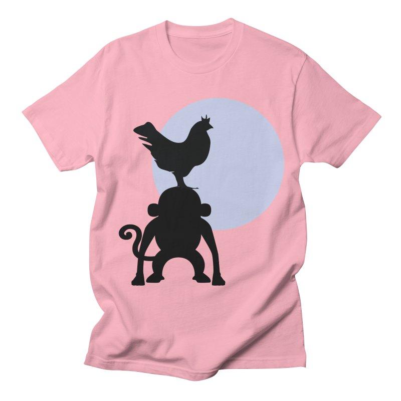 Cada macaco no seu un gallo Women's Regular Unisex T-Shirt by Yellow Studio · the Shop!