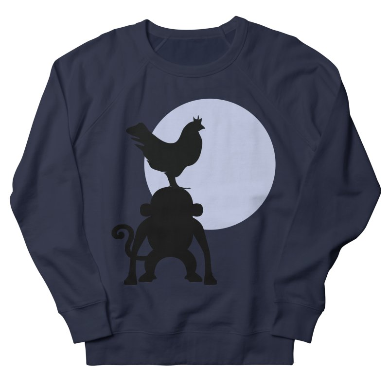 Cada macaco no seu un gallo Women's French Terry Sweatshirt by Yellow Studio · the Shop!