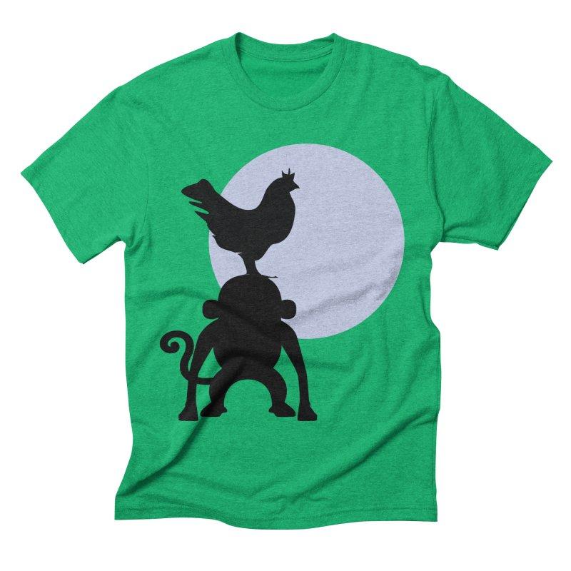 Cada macaco no seu un gallo Men's Triblend T-Shirt by Yellow Studio · the Shop!