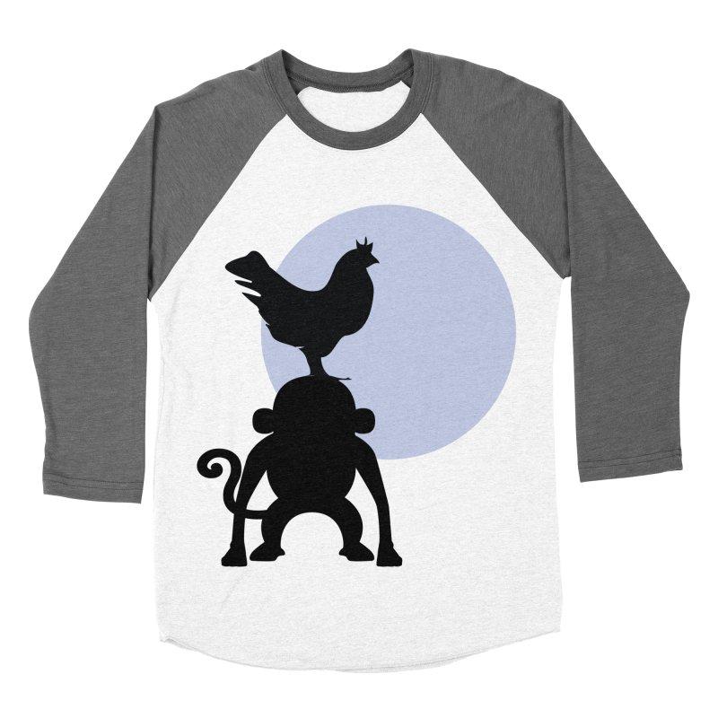 Cada macaco no seu un gallo Women's Baseball Triblend Longsleeve T-Shirt by Yellow Studio · the Shop!