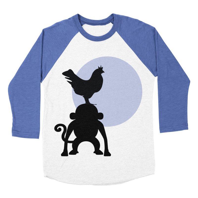 Cada macaco no seu un gallo Men's Baseball Triblend Longsleeve T-Shirt by Yellow Studio · the Shop!