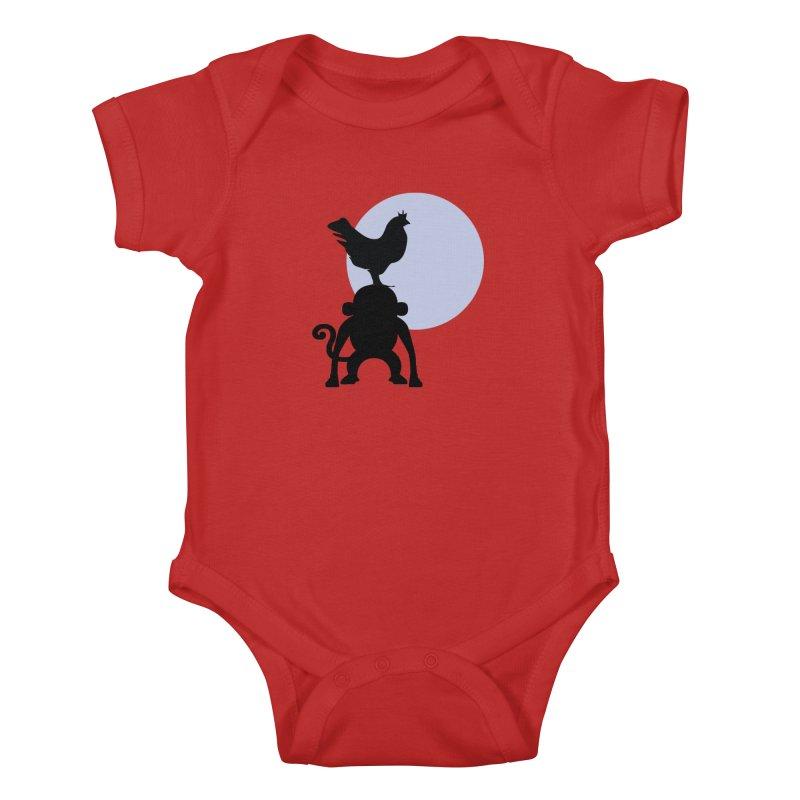 Cada macaco no seu un gallo Kids Baby Bodysuit by Yellow Studio · the Shop!