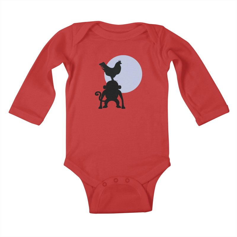 Cada macaco no seu un gallo Kids Baby Longsleeve Bodysuit by Yellow Studio · the Shop!