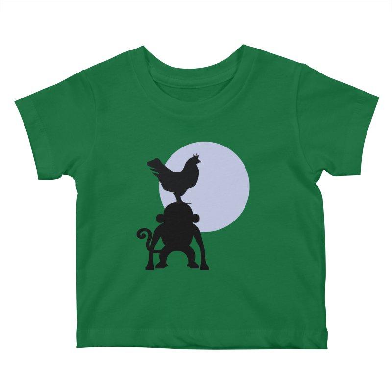Cada macaco no seu un gallo Kids Baby T-Shirt by Yellow Studio · the Shop!
