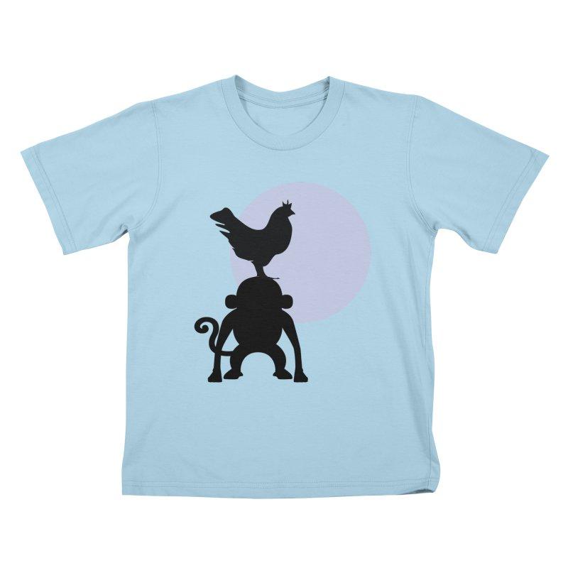 Cada macaco no seu un gallo Kids T-Shirt by Yellow Studio · the Shop!